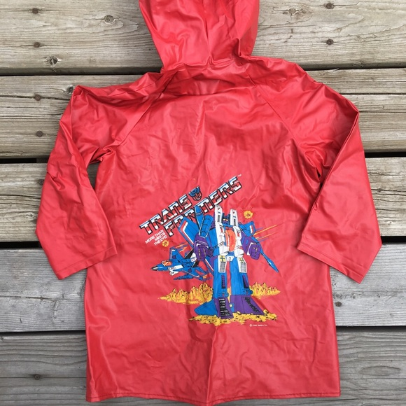 Hasbro Other - 1985 Transformers Cartoon Rain Coat